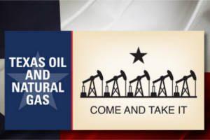 FREE Texas Oil Come and Take It Sticker