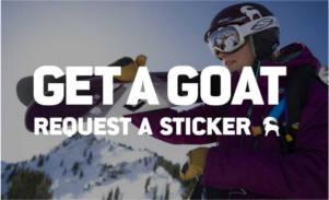 FREE Backcountry.com Goat Sticker
