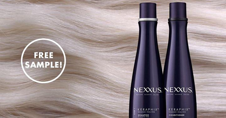 FREE Nexxus KERAPHIX Shampoo and Conditioner Sample