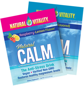 FREE Natural Vitality Calm Supplement Sample