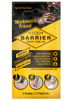 FREE Workman's Friend Barrier Skin Cream Sample