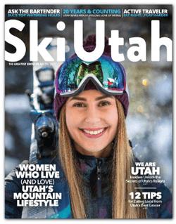 FREE Copy of Ski Utah Magazine