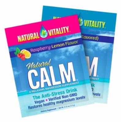 Free Sample of Natural CALM Magnesium Supplement