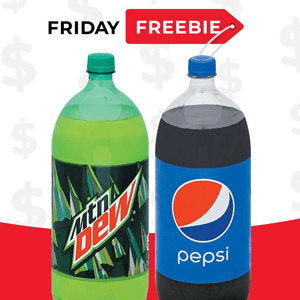 FREE Pepsi or Mtn Dew 2 liter Bottle at Hornbachers, Cub and Shoppers Stores