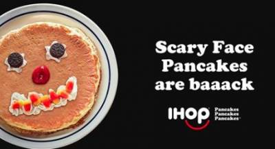 Free Scary Face Pancakes at IHOP®