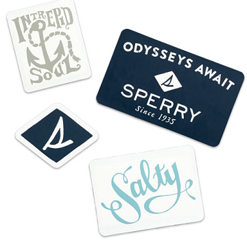 FREE Sperry Sticker Pack