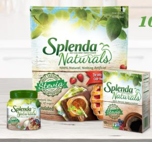 Free Splenda Naturals & Zero Liquid Sweetener Samples