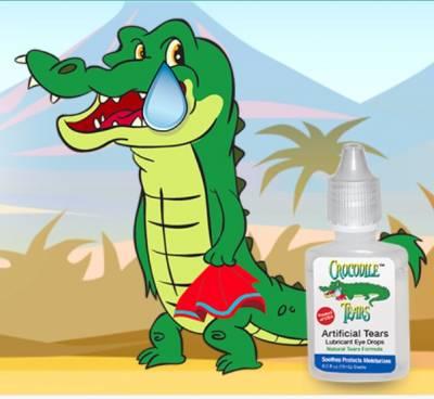 Free Sample of Crocodile Tears Eye Drops