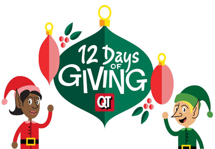 QuikTrip 12 Days of Giving – Today is a FREE QT Energy Drink