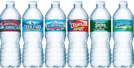 FREE 8-Pack of Arrowhead, Zephyrhills, Ozarka, Deer Park, and Poland Spring Sparkling Water