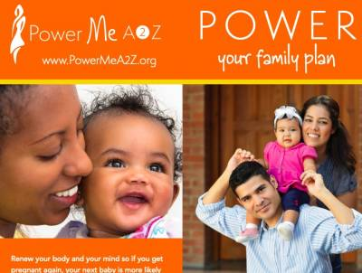 Free Health Resources from Power Me A2Z (healthcare provider, educator, or community health worker)