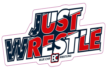 FREE Blue Chip Wrestling Sticker