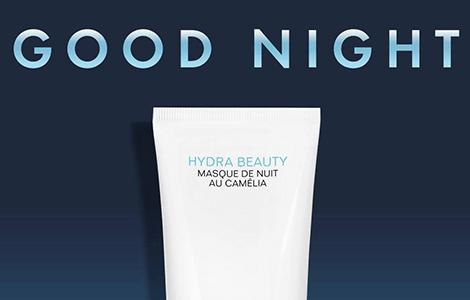FREE Hydra Beauty Masque De Nuit Au CAMÉLIA Sample