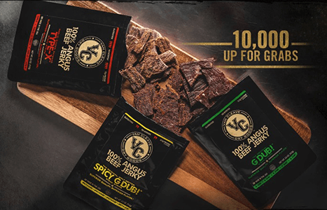 FREE Bag of Beef Jerky (FIRST 10,000!)