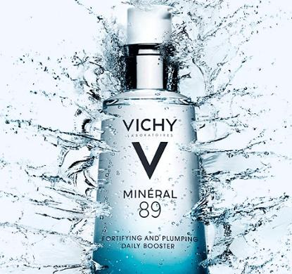 FREE Vichy Mineral 89 Sample
