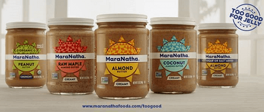 FREE MaraNatha Almond Butter Sample