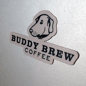 FREE Buddy Brew Coffee Sticker