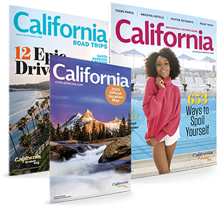 FREE California Visitor's & Road Guide, and State Map