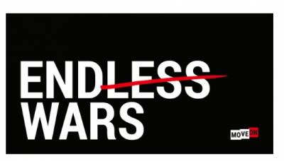 free No Endless Wars sticker