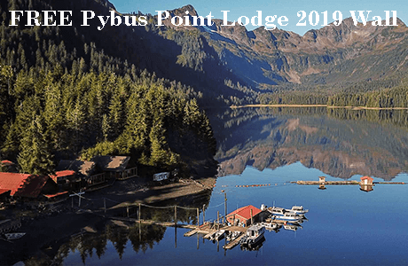 FREE Pybus Point Lodge 2019 Wall Calendar