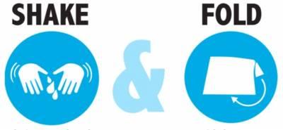 free Shake & Fold stickers