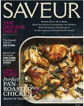 FREE Subscription to Saveur Magazine