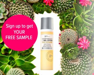 Free Sample of Confidence in a Gel Moisturizer
