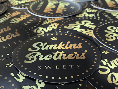 FREE Simkins Brothers' Sweets Sticker
