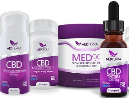 FREE MEDTERRA CBD Product Sample