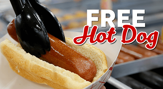 FREE Hot Dog at QuikTrip and More (Today)