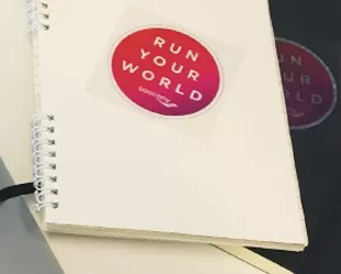 FREE Saucony Run Your World Sticker