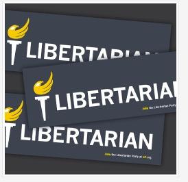 free Libertarian bumper sticker