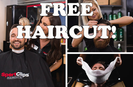 FREE Haircut at SportClips