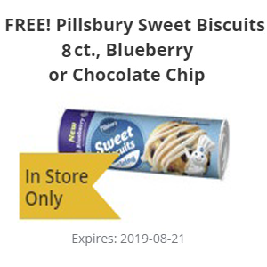 FREE Pillsbury Sweet Biscuits at H-E-B
