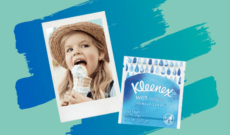 FREE Kleenex Wet Wipes Sample