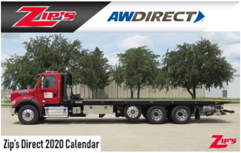 FREE Zip's AW Direct 2020 Calendar