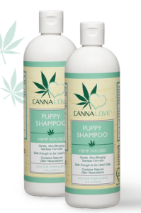 Free Cannalove Puppy Shampoo Sample
