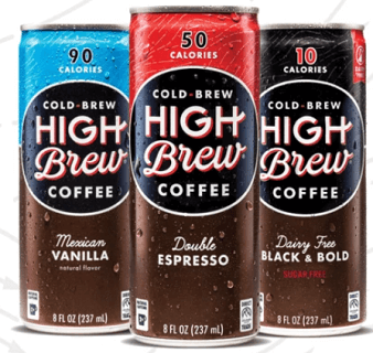 FREE Can of High Brew Coffee (Coupon)