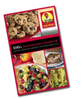 FREE Sun-Maid 100th Anniversary CookBooks