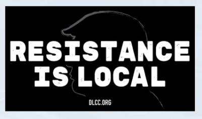 Free Sticker - Resistance is Local