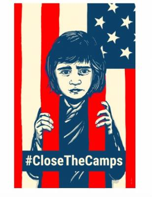 Free Sticker - Close the Camps