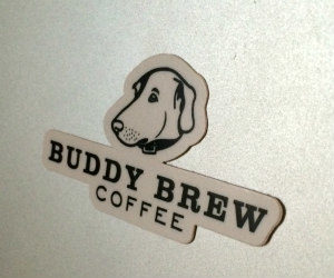 Free Buddy Brew Coffee Sticker