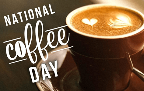 FREE Coffee for National Coffee Day Today (September 29th)