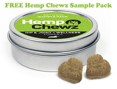 FREE Hemp Chewz Dog Treat Samples