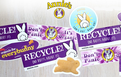 FREE Annie's Homegrown Stickers