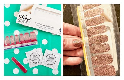 Color Street Nail Polish Strip for Free