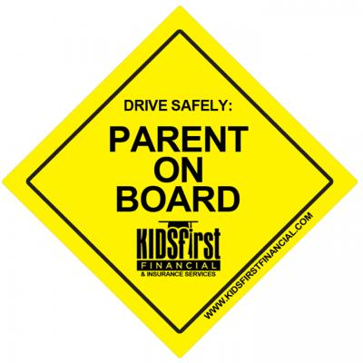 Free Parent On Board Sticker