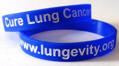 Free Wrist Bands from LUNGevity