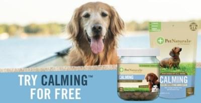 Free Sample of Calming Dog Supplements