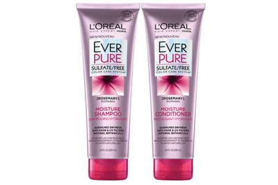 Free Samples of L'oreal EverPure Moisture Shampoo and Conditioner